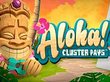 Играйте в виртуальны автомат Aloha Cluster Pays от NetEnt