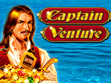Играть онлайн в виртуальный автомат Captain Venture от Novomatic